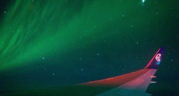 Air New Zealand crea u vuelo especial para admirar la Aurora Austral