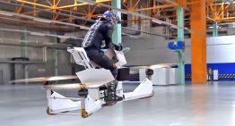 La combinación perfecta entre moto y drone
