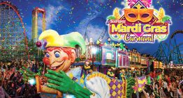 Six Flags al estilo Mardi Gras