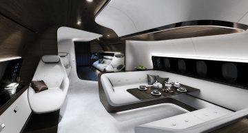 Lufthansa y Mercedes-Benz diseñan el jet privado más exclusivo del mundo