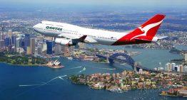 Qantas tiene su primer vuelo directo a Europa