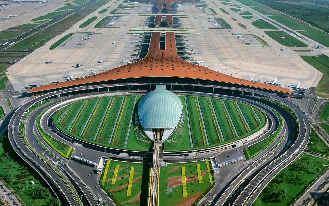 Resultado de imagen de aeropuerto mas grande del mundo