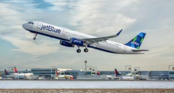 JetBlue desvía vuelo debido a la batería de una computadora portátil