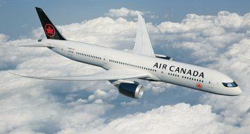 Air Canada se prepara  para la temporada de invierno