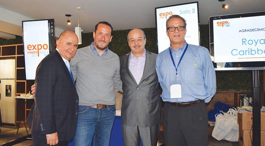 Víctor Cervantes, Jorge Sales, José Manuel Díaz de Rivera y José Manuel Bolívar