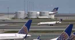 United Airlines evacua un vuelo por fuego en un motor