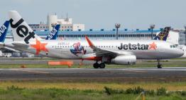 Jetstar estrena su A320 con vuelo lleno de Spidermans
