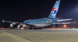 Un menú orgánico en la primera clase de Korean Air