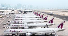 Qatar Airways suspende rutas a cuatro países