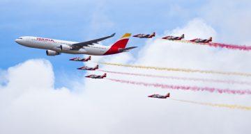 Iberia cumple 90 años desde su primer vuelo