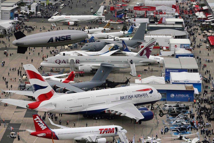inicia el paris air show 2017 jet news