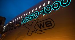 La primer pintura luminiscente la tiene Airbus en su A350-1000