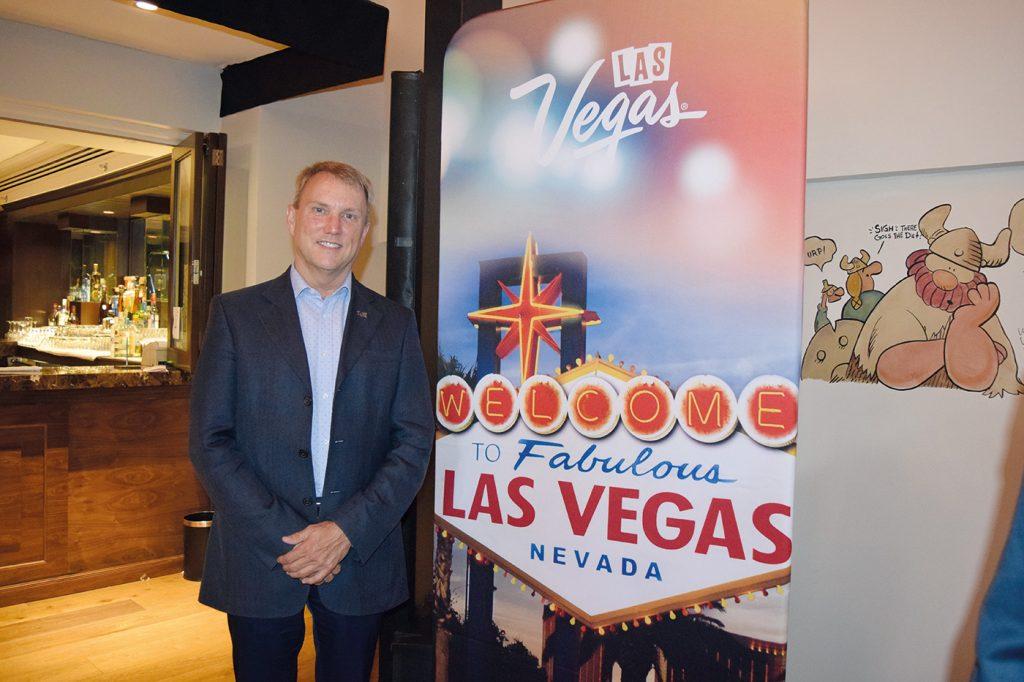 Jim McMichael gerente cultural y de diversidad de Las Vegas