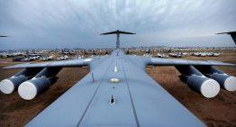 Cementerio de aviones en Arizona