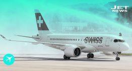 El CS100 Series tiene su primer vuelo comercial con Swiss Airlines