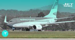 Un Boeing 737-800 llega a Argentina