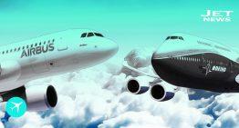 Boeing cuenta con más pedidos que Airbus