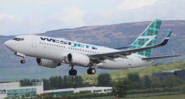 WestJet vuela de Vancouver a CDMX