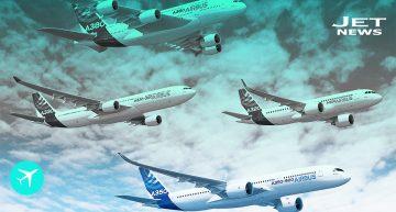 Ventas y entregas de Airbus hasta hoy