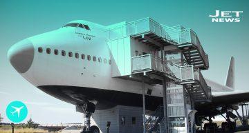 """""""Jumbo Hostel"""", el 747 más cómodo del mundo"""