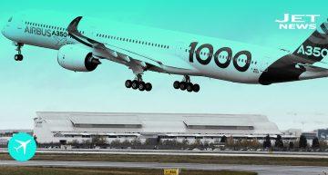 El A350-1000 comienza su gira por el mundo