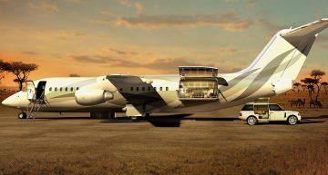 Los 5 aviones privados más lujosos del 2017