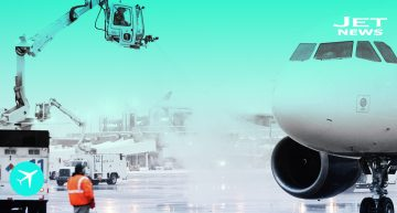 ¿Cómo se descongelan los aviones?