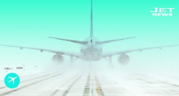 Aviones vs. Nieve, una batalla infinita