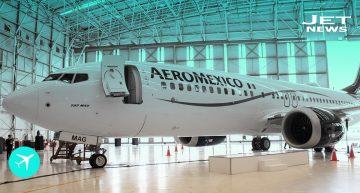 Aeroméxico presenta su primer B737 MAX 8