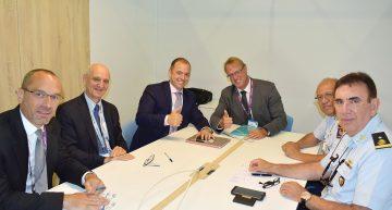 Reunión de trabajo con directivos de Safran Helicopter Engines.