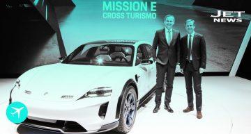 El Porsche Mission E Cross Turismo te llevará a lugares inimaginables