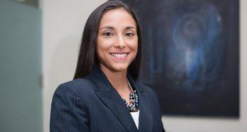 Alina Nassar, presidenta de la International Aviation Women's Association (IAWA).