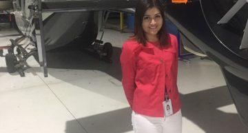 Elva Citlalli, ingeniera de mantenimiento  de nacionalidad mexicana.