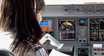 Destacada participación de la mujer en la aviación.