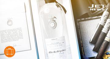Botella personalizada Tequila Dragones