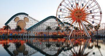 Paradise Pier in Anaheim