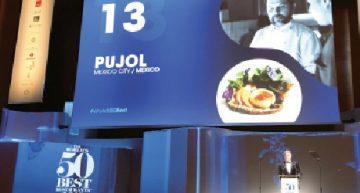 Premiación restaurante Pujol