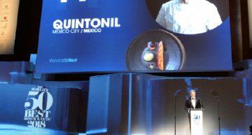 Premiación restaurante Quintonil
