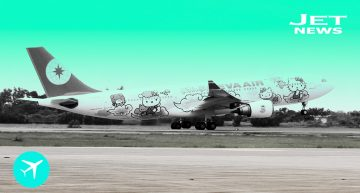 Eva Air presenta la aeronave temática de Hello Kitty