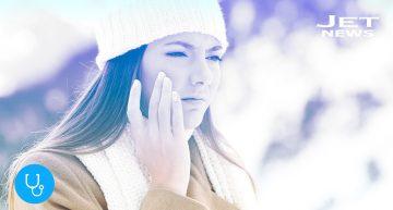 Cuide su rostro del frío