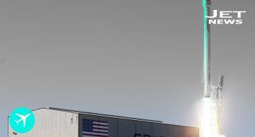 El Falcon 9 emprende su viaje