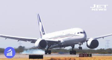 México despide a su avión presidencial