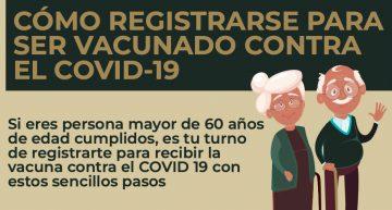 Registro de vacunación contra el COVID19